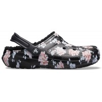Crocs Classic Printed Lined Clog Floral