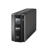 APC Back UPS Pro BR 650VA, 6 Outlets, AVR, LCD Interface