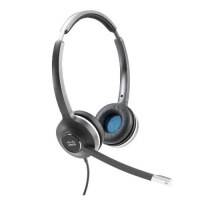 Cisco Headset 532 (Wired Dual with Quick Disconnect coiled RJ Headset Cable)