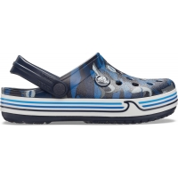 Crocs Crocband Shark Clog Kids - Navy, C13 (30-31)