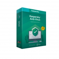 Kaspersky Anti-Virus 3x 1 rok Obnova BOX