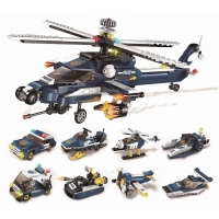 Qman Storm Armed Helicopter 1801 sada 8v1