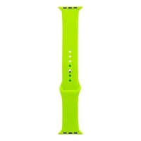 Tactical 481 Silikonový Řemínek pro iWatch 4 40mm Light Green (EU Blister)