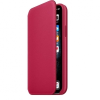iPhone 11 Pro Leather Folio - Raspberry