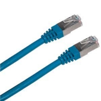 Patch cord FTP cat5e 2M modrý