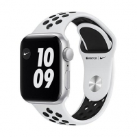 Watch Nike S6, 44mm, Silver/Plat./Bl Nike SportB