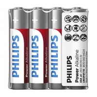 PHILIPS LR03P4F Baterie Power Alkaline AAA / 4ks