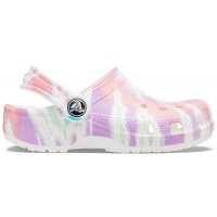 Crocs Classic Tie Dye Graphic Juniors