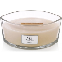 Vonná svíčka WoodWick Hearthwick, 453,6 g - White Honey