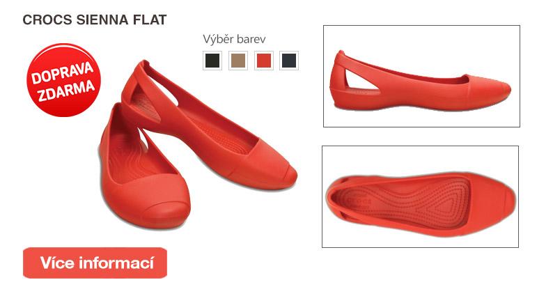 Crocs Sienna Flat Flame