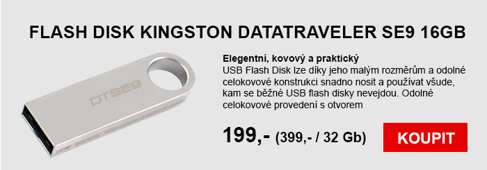 Flash disk Kingston se9