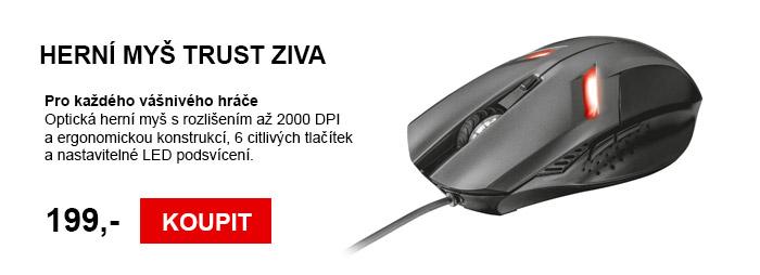 Herní myš TRUST Ziva