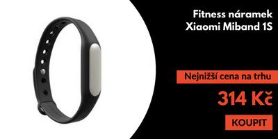 Fitness náramek Xiaomi Miband 1S