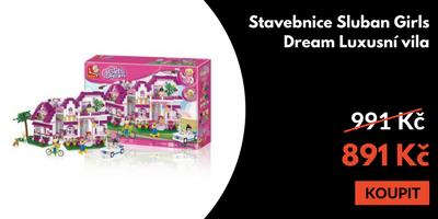 Stavebnice Sluban Girls Dream vila 2