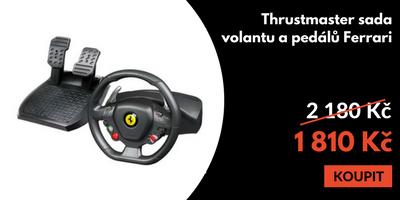 Volant s pedály Thrustmaster Ferrari