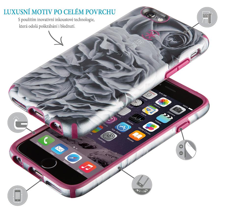 Ochranný kryt Speck CandyShell Inked - elegantní motiv po celém povrchu