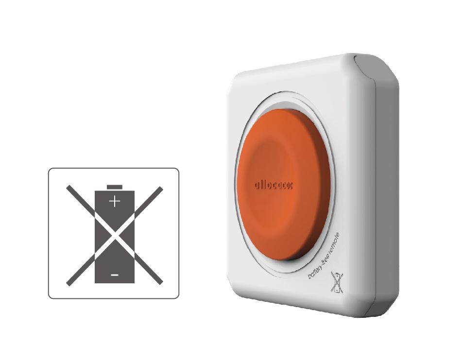 Spínaná zásuvka PowerCube Remote bez potřeby napájet ovladač