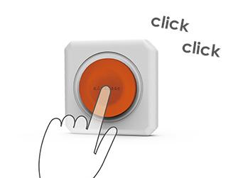 Spínaná zásuvka PowerCube Remote s možností restartu nastavení