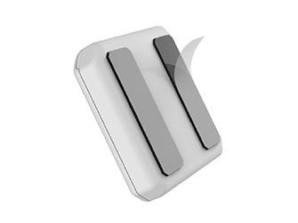 Spínaná zásuvka PowerCube Remote s unikátní přilnavou plochou Stick-Pad