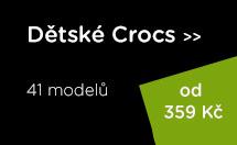 Dětské boty Crocs ve výprodeji!