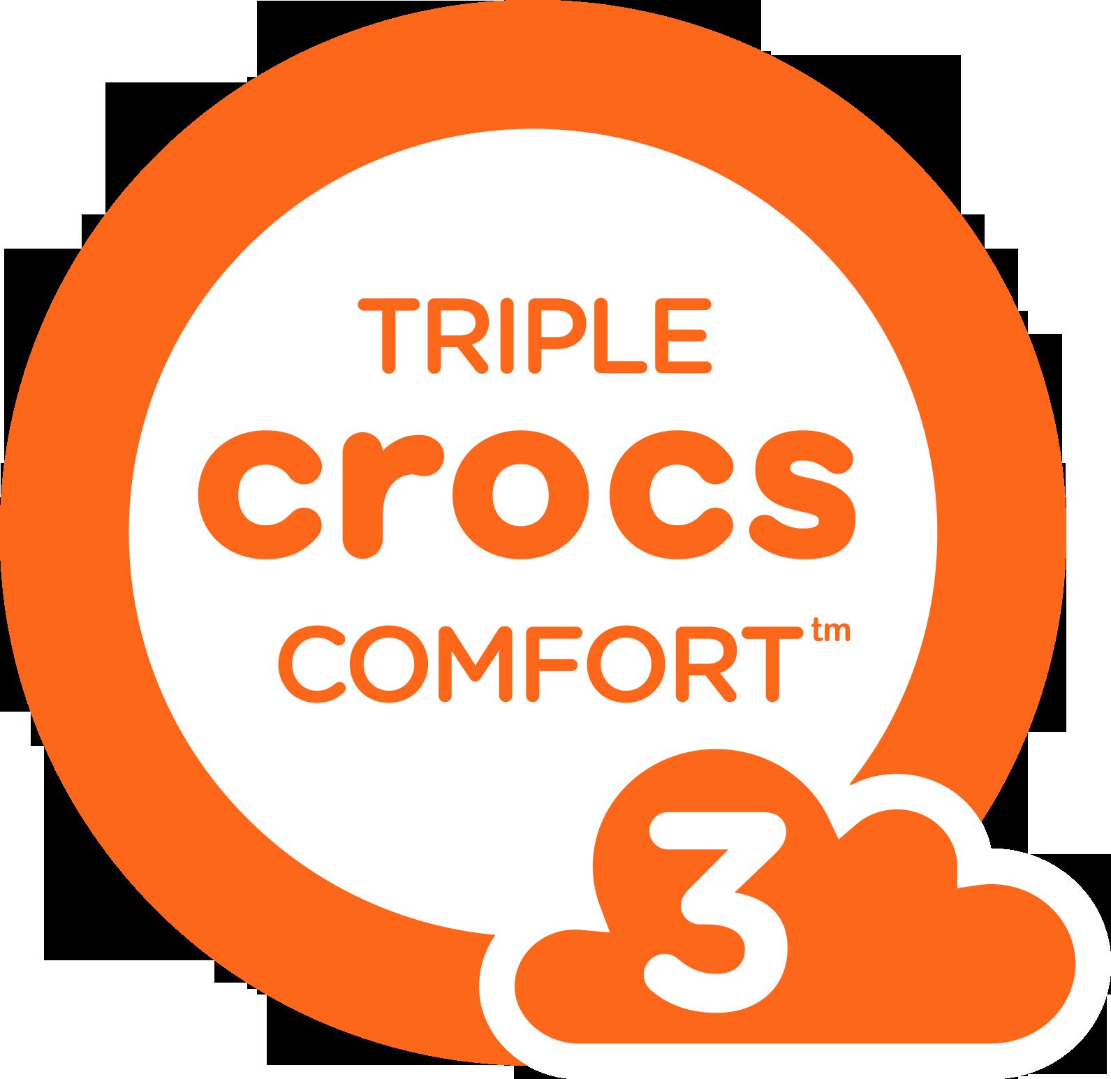 Triple Crocs Comfort
