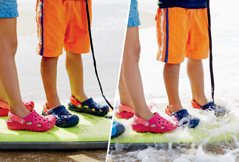 Dřeváky Crocs Swiftwater Clog Kids
