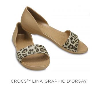 Crocs Lina Graphic D'Orsay