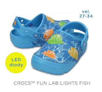 Crocs Fun Lab Lights Fish
