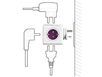 Rozbočovač (rozbočka) PowerCube ReWirable s možnosti připojení několika zásuvek