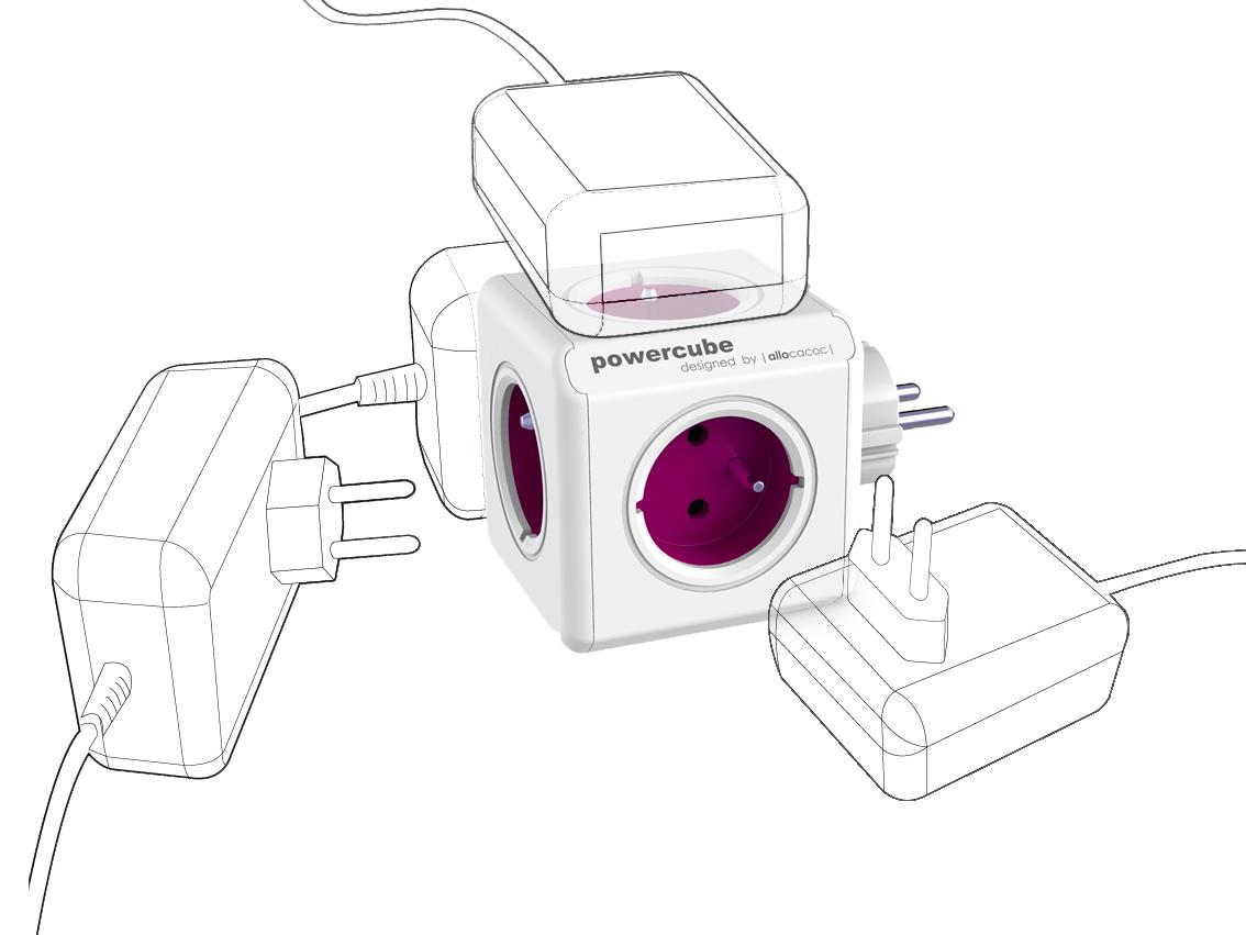 Rozbočovač (rozbočka) PowerCube ReWirable s pohodlným připojením