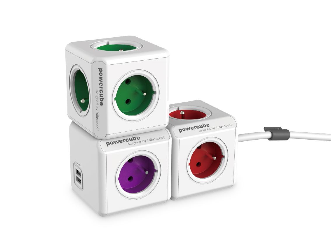 Rozbočovač (rozbočka) PowerCube ReWirable s možností rozšíření
