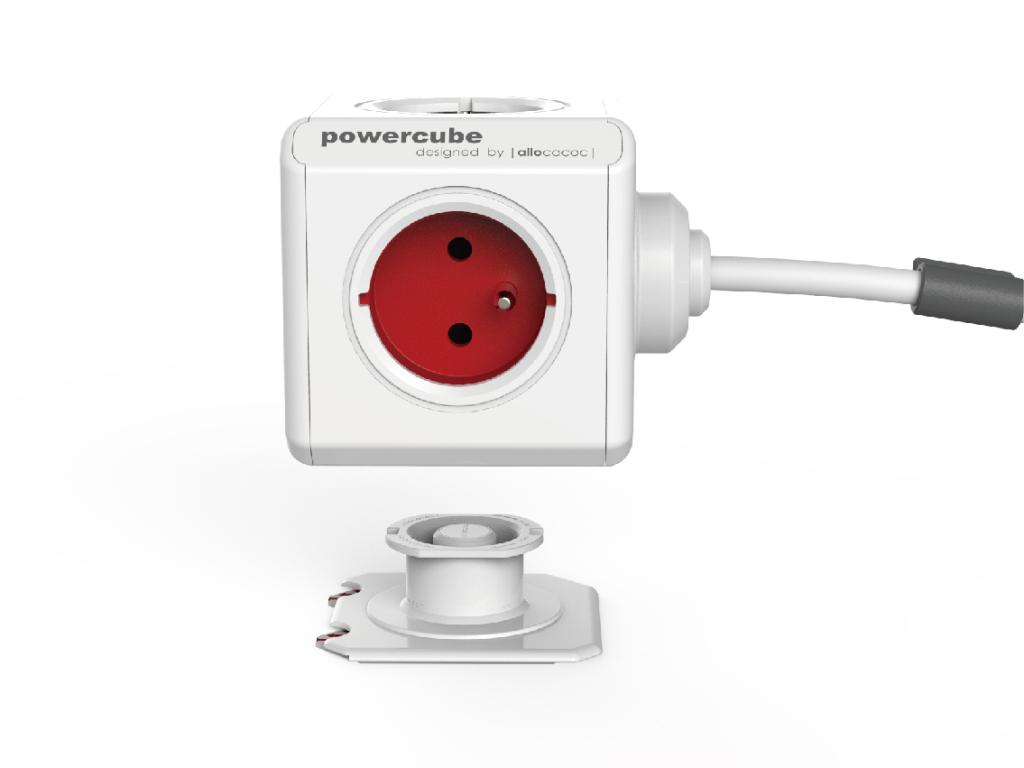 Rozbočovač elektrického proudu s kabelem a montážním dokem PowerCube Extended
