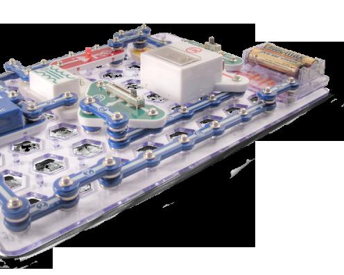 Elektronická stavebnice Boffin s velkým množstvím projektů