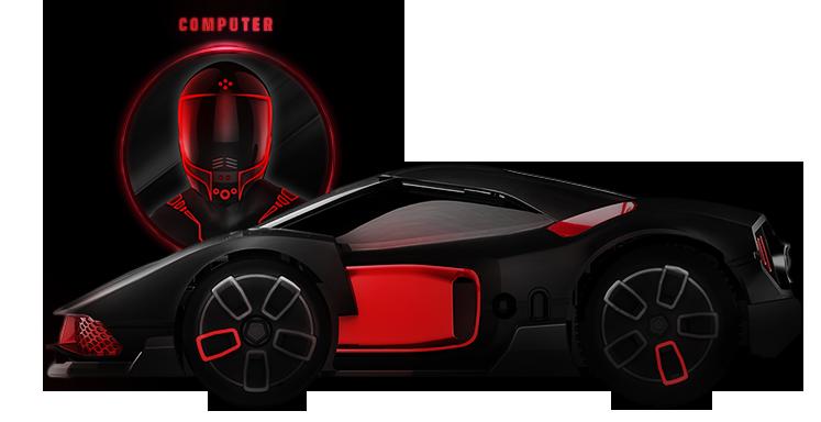 Sada chytrých autíček WowWee REV - pokročilá úmělá inteligence