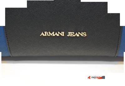 Kabelka Armani Jeans Borsa Shopping Bag Royal Blue s luxusním vzhledem