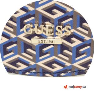 Crossbody kabelka Guess G Cube Bag Blue s lesklým logem