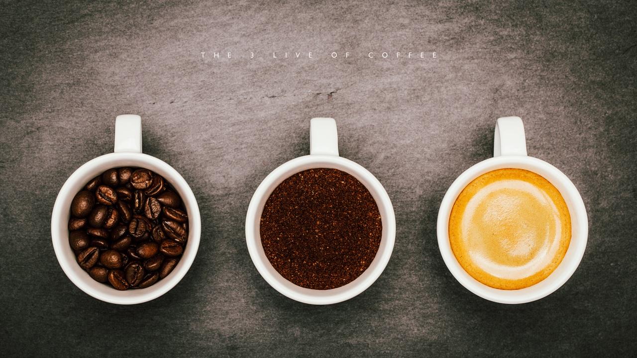 Průběh přípravy kávy