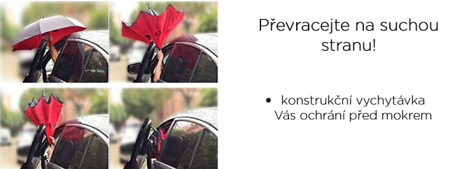holový deštník