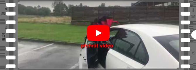 deštníky video