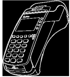 Pokladní systém / registrační pokladna (terminál) FiskalPRO VX 520 GPRS/BAT pro elektronickou evidenci tržeb EET