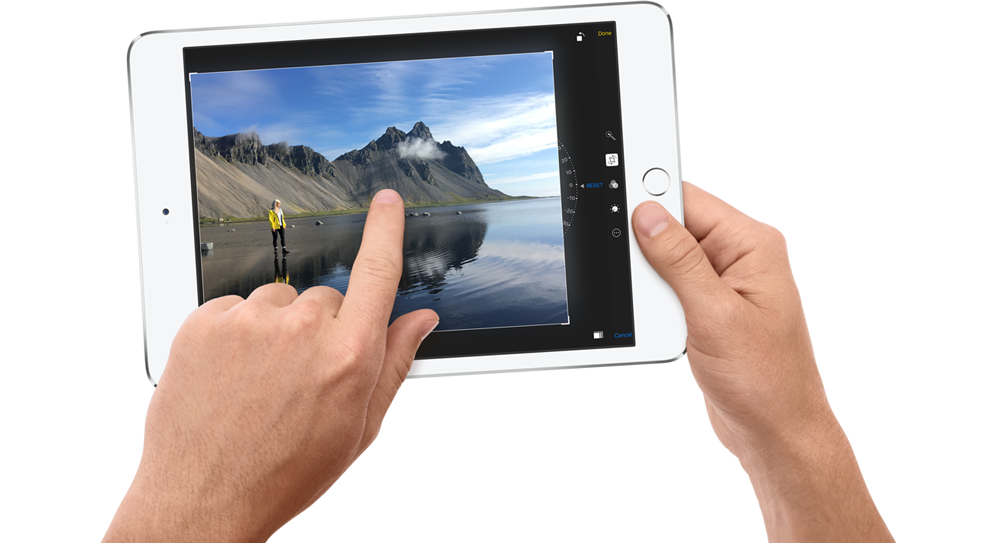 Tablet Apple iPad Mini 4 se silným hardware