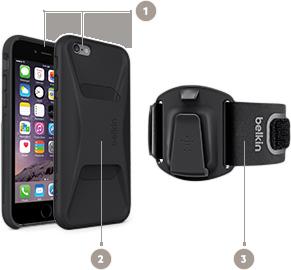 Belkin Clip-Fit Armband s univerzální použitím