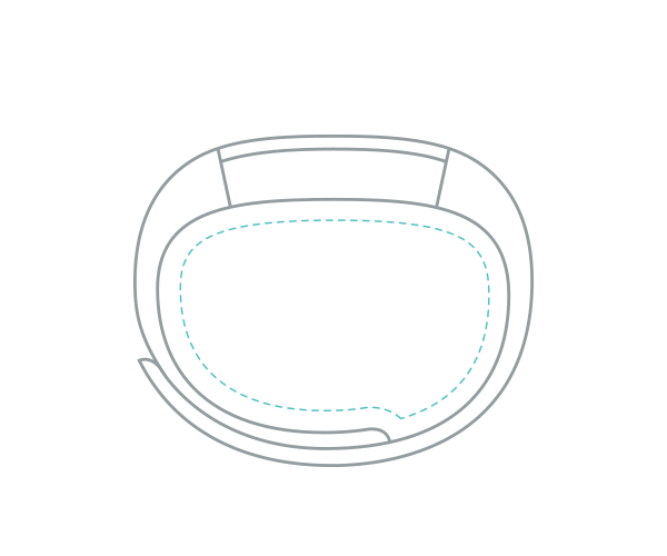 Fitness náramek Fitbit Alta ve velikosti L (Large)
