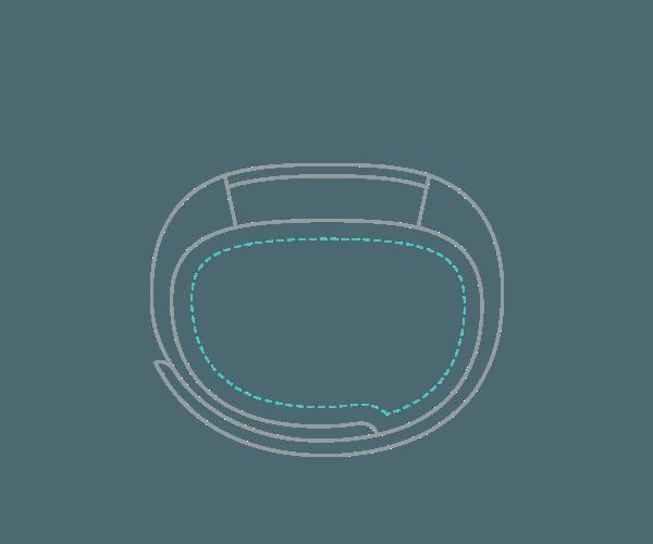 Fitness náramek Fitbit Alta ve velikosti S (Small)