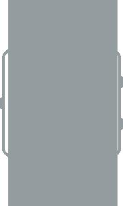 Tloušťka fitness náramku Fitbit Blaze