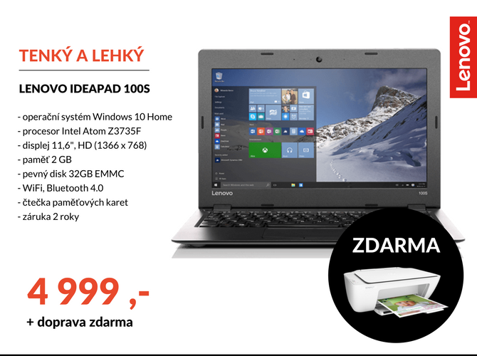 Notebook Lenovo Ideapad 1005