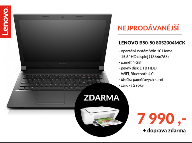 Notebook Lenovo B50-50 80S2004MCK