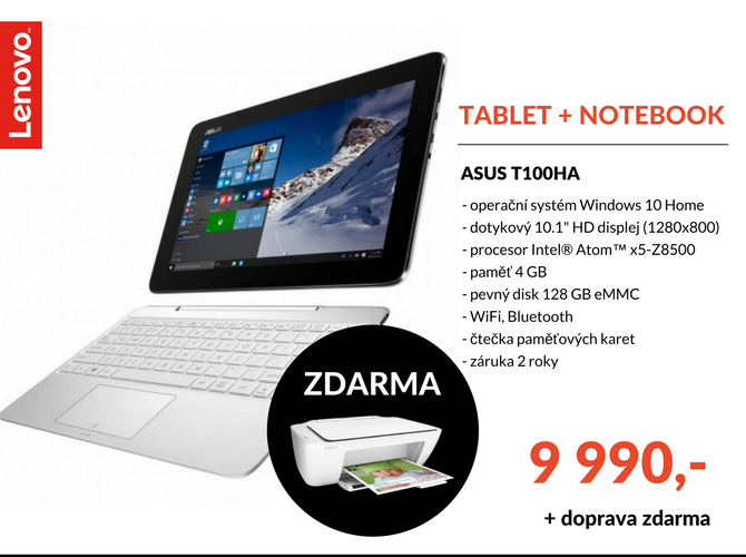 Notebook Asus T100HA