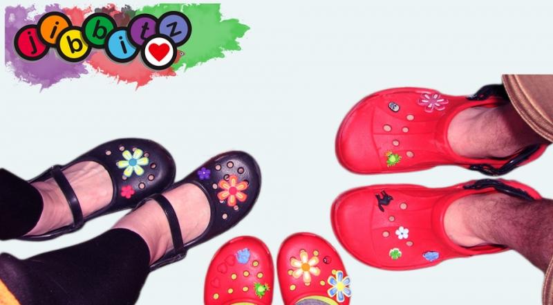 Odznáčky Jibbitz - ozdoba na obuv Crocs