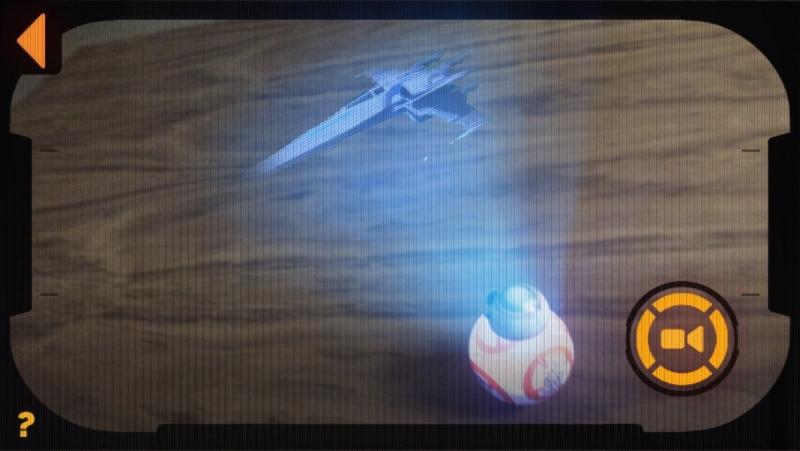 Holografické zobrazení Droidu Sphero BB-8